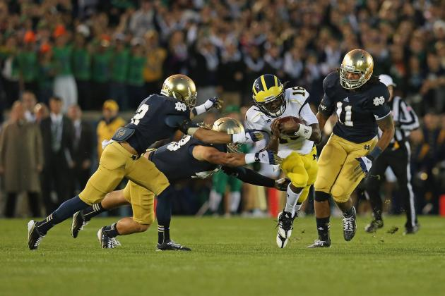 ESPN: U-M Among Top Candidates for Notre Dame-Like Surge in 2013