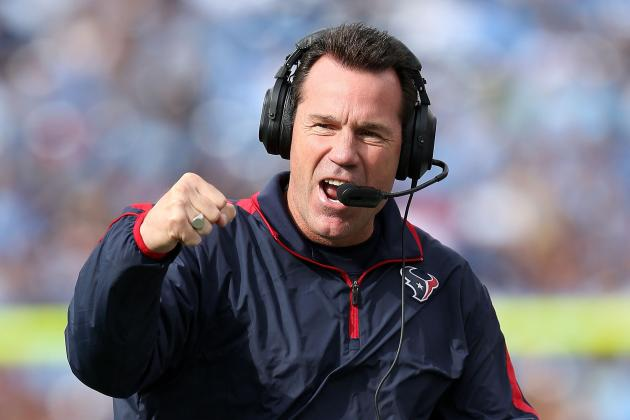 Kubiak to Texans Players: 'Cut It Loose'