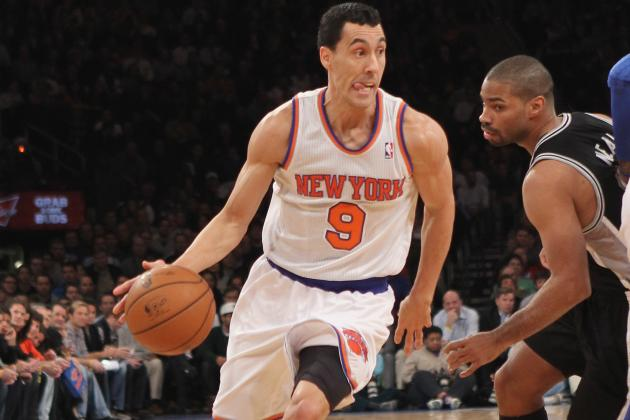 Pablo Prigioni's Impressive Night as Knicks Point Guard