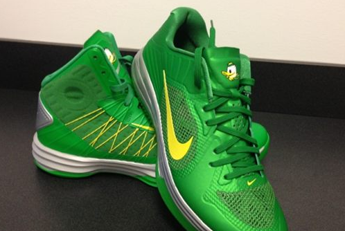Oregon to Wear Special Shoes for Civil War