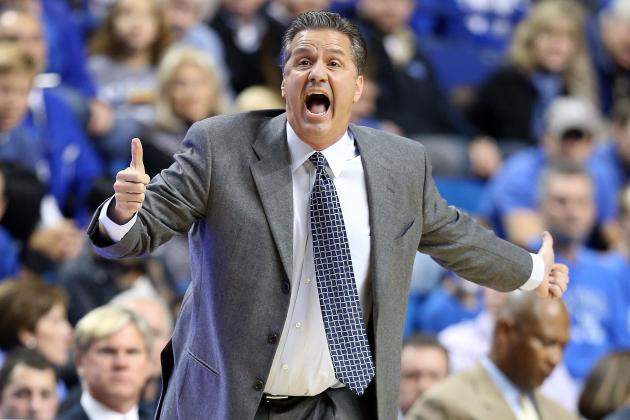 Kentucky Basketball: Another SEC Title Is Anything but Secure for Wildcats