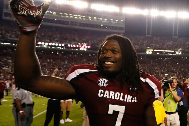 Steve Spurrier: Clowney Could Have Gone from High School to the NFL