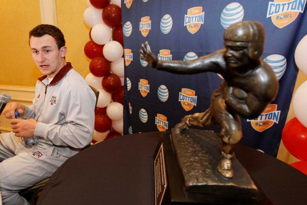 Cotton Bowl Notebook: Manziel Still Unsure Where His Heisman Will Call Home