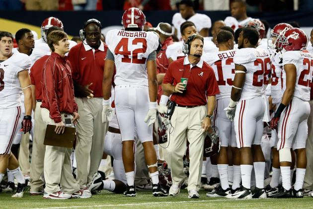 Approach Doesn't Change for Tide, Saban