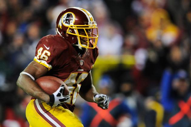 Seahawks Hope to Contain Washington's Other Rookie Star, Alfred Morris