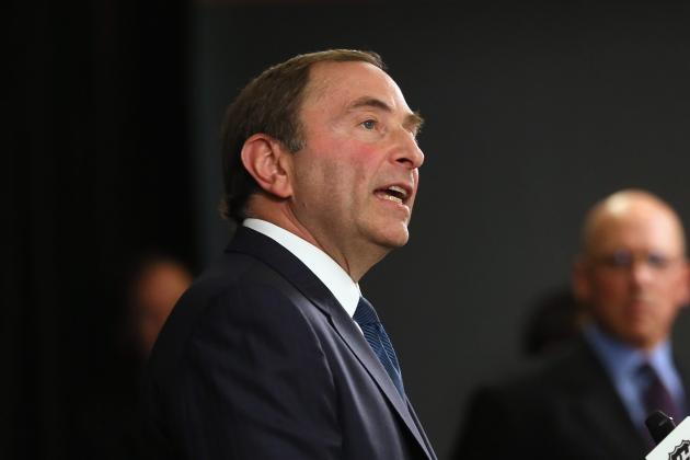 Report: Gary Bettman Tells Players GMs Want to Dismantle Teams