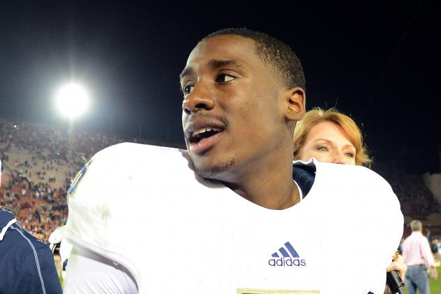 Notre Dame Sophomore Everett Golson Gears Up for Biggest Test