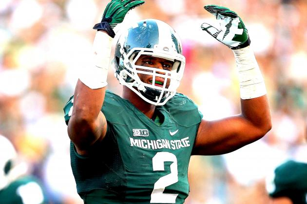 Michigan State Star William Gholston Reportedly Declares for NFL Draft