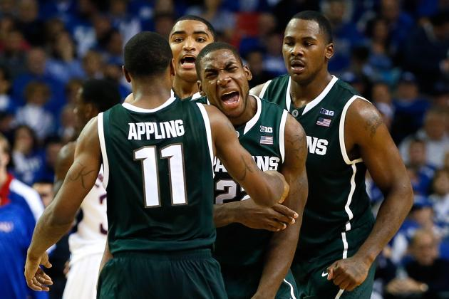 Michigan State Hoops Notes: Spartans May Go Big on Floor vs. Purdue