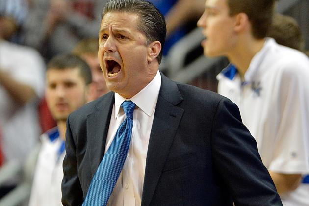 John Calipari Planning to Watch Andrew Wiggins This Weekend