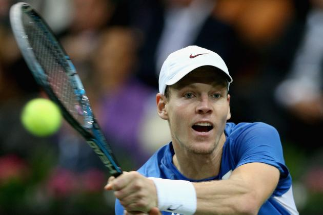 Top-Seeded Berdych Upset in Chennai Open