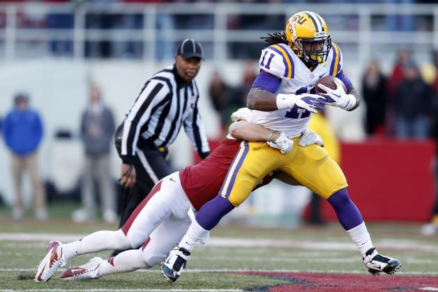 2013 NFL Draft: P Wing and RB Ware Leaving LSU for the NFL