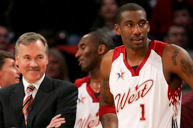 Amar'e Not Taught D? Nonsense, D'Antoni Says