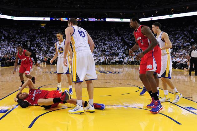 Warriors on Clippers: What Rivalry?