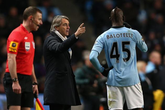 Mario Balotelli: Roberto Mancini Wrong to Hang on to Troublesome Striker