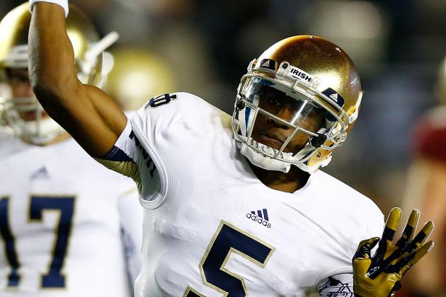Notre Dame QB Golson's Dream: To Play College Basketball