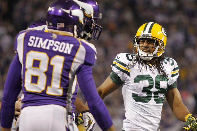 Packers' Williams Fined for Penalty, Scuffle with Vikings' Simpson