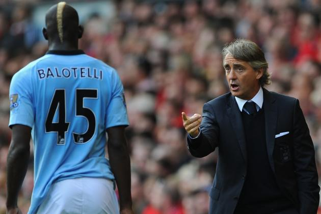 Mario Balotelli Will Face No Action After Clash with Roberto Mancini