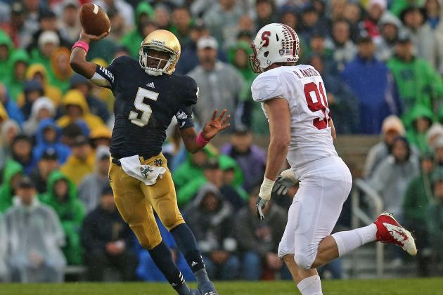 Alabama vs. Notre Dame 2013: Everett Golson Will Lead Irish to Victory