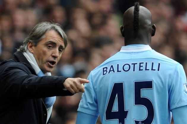 Roberto Mancini Has 'no Regrets' over Mario Balotelli Confrontation