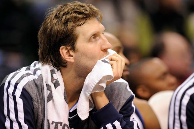 Dirk Nowitzki's Return to Starting Lineup Won't Save Mavericks' Playoff Hopes