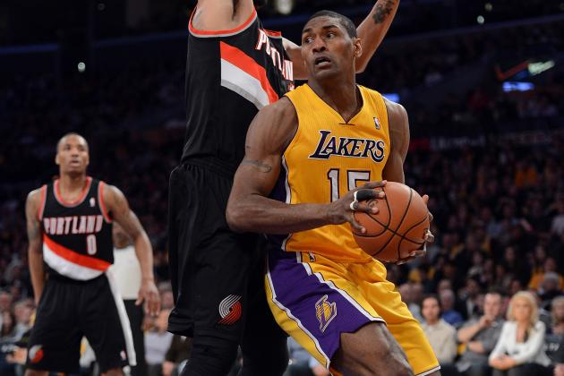 Metta World Peace Returns to Starting Lineup