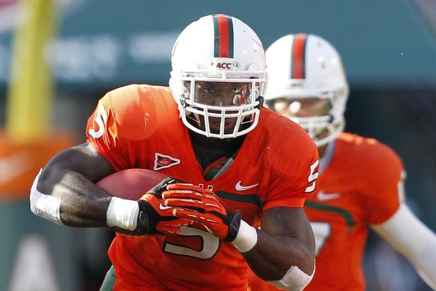 Interview with Miami Hurricanes RB Mike James as He Approaches the NFL Draft