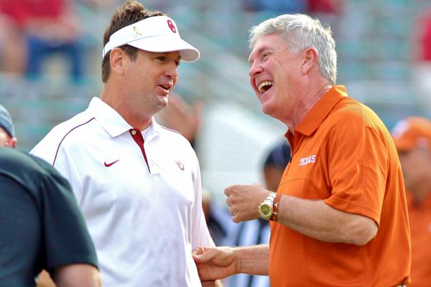 Big 12 Football: Sorry B1G, but Texas and Oklahoma Aren't Leaving the Big 12
