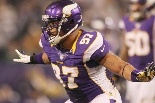 Griffen Puts the Energy in Vikings' Defense