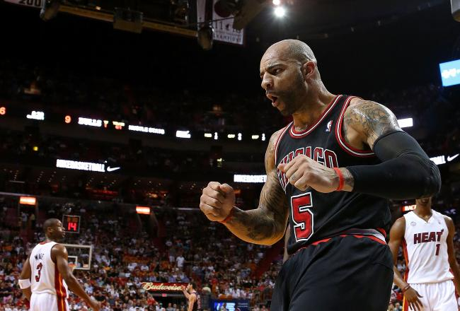 Booz is pumped, and the Bulls are rolling.