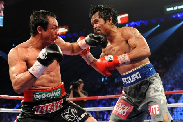 Top Rank Reportedly Targeting 5th Pacquiao vs. Marquez Fight