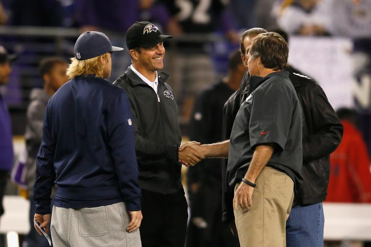 NFL Playoffs 2013: Power Ranking Head Coaches in Postseason Action