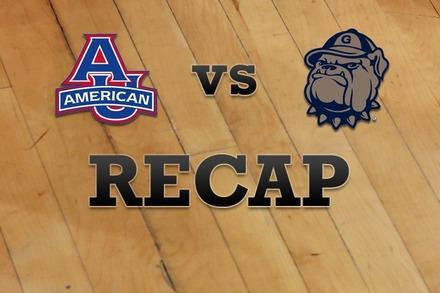 American University vs. Georgetown: Recap, Stats, and Box Score