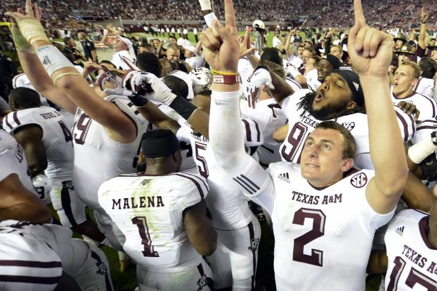 Johnny Manziel: Aggies QB Must Deliver National Championship in 2013