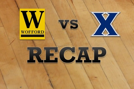Wofford vs. Xavier: Recap, Stats, and Box Score