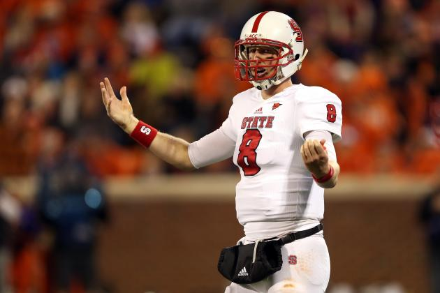 2013 NFL Draft: Why Mike Glennon Will Be a Bust at the NFL Level
