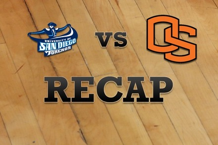 San Diego vs. Oregon State: Recap, Stats, and Box Score