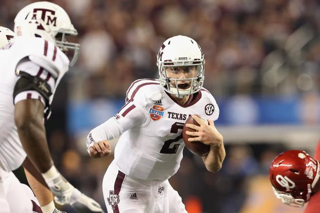 Johnny Manziel Sets Record for Most Rushing Yards by Quarterback in Bowl Game