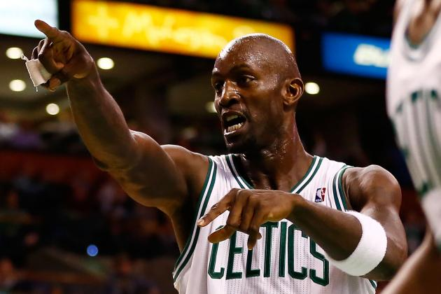 Kevin Garnett Says Flagrant Foul Wasn't Intentional