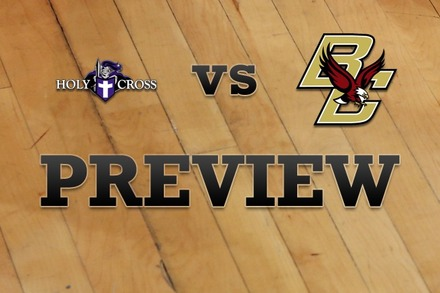 Holy Cross vs. Boston College: Full Game Preview