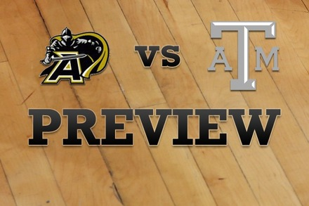 Army vs. Texas A&M: Full Game Preview