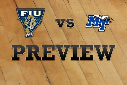 Florida International vs. Middle Tennessee State: Full Game Preview