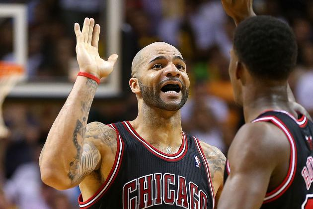 Bulls Beat Heat Behind Another Big Game from Carlos Boozer