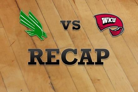 North Texas vs. Western Kentucky: Recap, Stats, and Box Score