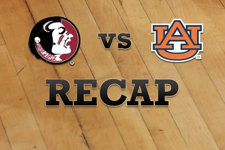 Florida State vs. Auburn: Recap, Stats, and Box Score