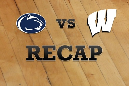 Penn State vs. Wisconsin: Recap, Stats, and Box Score