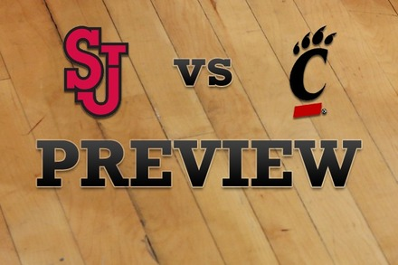 St John's vs. Cincinnati: Full Game Preview