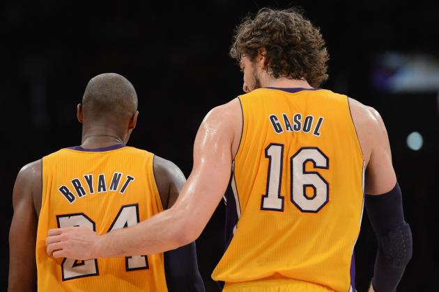 Kobe Bryant's Loyalty to Pau Gasol Ensures L.A. Lakers' Big Won't Be Traded