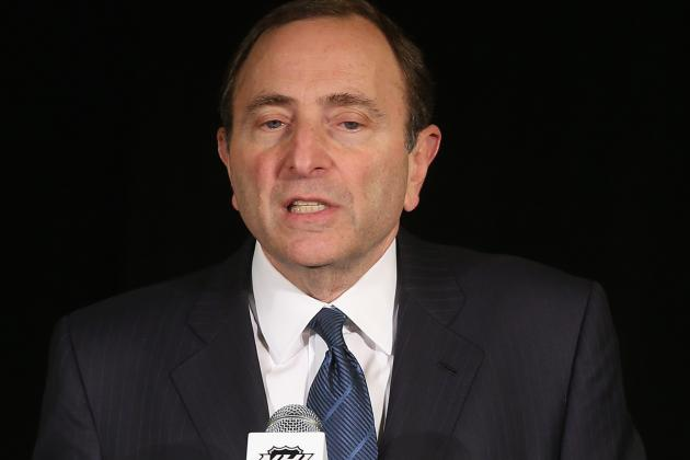 NHL Lockout: Why Gary Bettman's Days as Commish Look to Be Numbered
