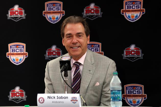 Nick Saban: 'I Don't Have Any Unfinished Business in the NFL'